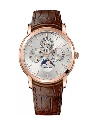 Chic Time | Montre Homme Audemars Piguet Jules Audemars Perpetual Calendar 26390OR.OO.D088CR.01  | Prix : 39,810.00