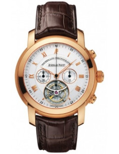 Chic Time | Montre Homme Audemars Piguet Jules Audemars Tourbillon Chronograph 26010OR.OO.D088CR.01  | Prix : 114,954.00