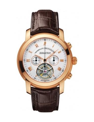 Chic Time | Montre Homme Audemars Piguet Jules Audemars Tourbillon Chronograph 26010OR.OO.D088CR.01  | Prix : 114,954.00