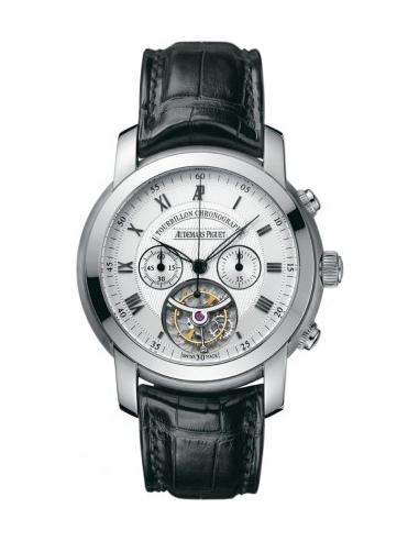 Chic Time | Montre Homme Audemars Piguet Jules Audemars Tourbillon Chronograph 26010BC.OO.D002CR.01  | Prix : 116,526.00
