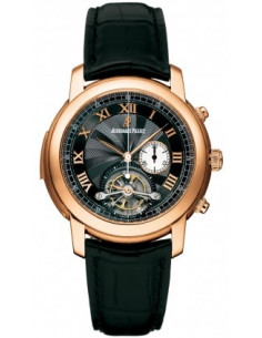 Chic Time | Montre Homme Audemars Piguet Jules Audemars Tourbillon Chronograph Minute Repeater 26050OR.OO.D002CR.01  | Prix :...