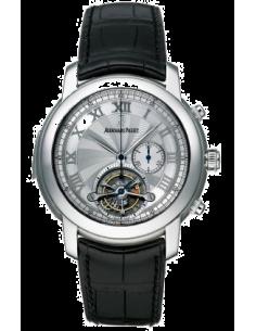 Chic Time | Montre Homme Audemars Piguet Jules Audemars Tourbillon Chronograph Minute Repeater 26050PT.OO.D002CR.01  | Buy at...
