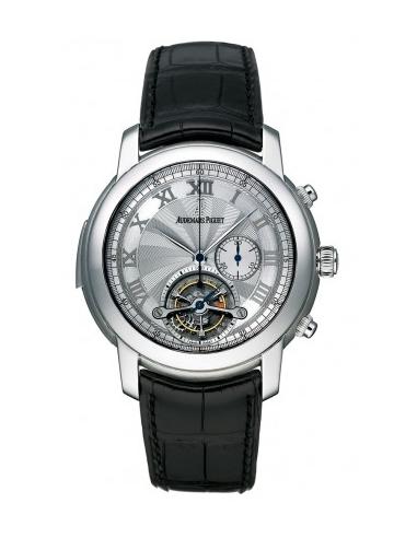 Chic Time | Montre Homme Audemars Piguet Jules Audemars Tourbillon Chronograph Minute Repeater 26050PT.OO.D002CR.01  | Prix :...