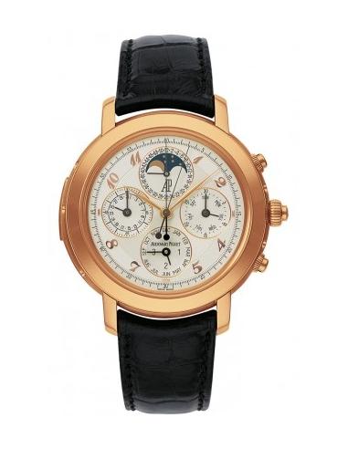 Chic Time | Montre Homme Audemars Piguet Jules Audemars Grand Complication 25866OR.OO.D002CR.02  | Prix : 430,272.00