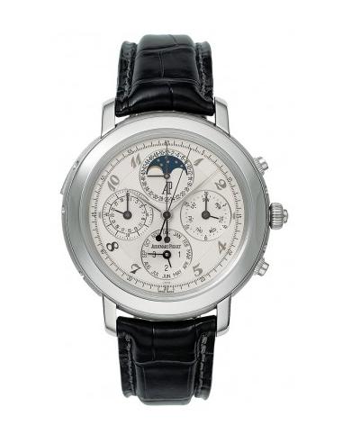 Chic Time   Montre Homme Audemars Piguet Jules Audemars Grand Complication 25866PT.OO.D002CR.02    Prix : 459,222.00