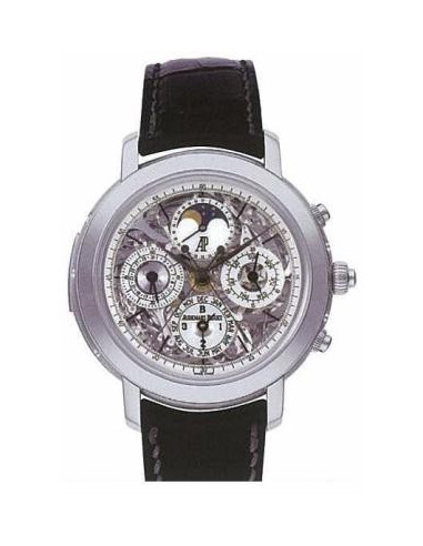 Chic Time | Montre Homme Audemars Piguet Jules Audemars Grand Complication 25996TI.OO.D002CR.01  | Prix : 522,306.00
