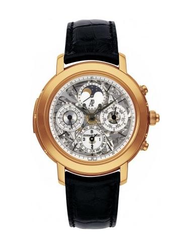 Chic Time | Montre Homme Audemars Piguet Jules Audemars Grand Complication 25996OR.OO.D002CR.01  | Prix : 538,770.00