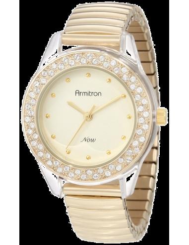 Chic Time | Montre Femme Armitron 75/4084CHGP Swarovski Crystal  | Prix : 89,90€
