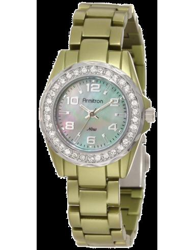 Chic Time | Montre Femme Armitron 75/4077GMLG Swarovski Crystal  | Prix : 149,90€
