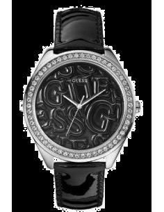 Chic Time | Montre Femme Guess Puffy G W85098L4 Noire  | Prix : 159,00€