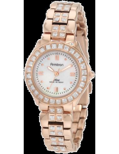 Chic Time | Montre Femme Armitron 753689MPRG NOW Swarovski Crystal  | Prix : 113,90€