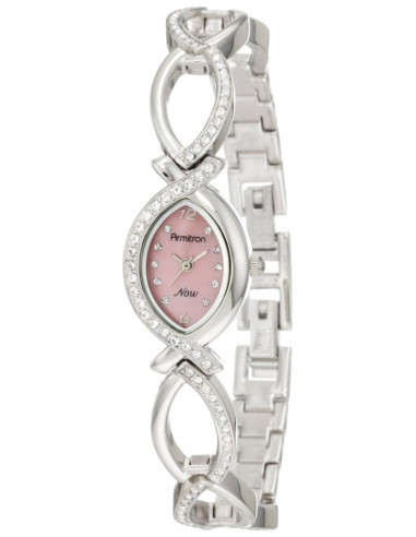 Chic Time | Montre Femme Armitron 75/3477PMSV NOW Swarovski Crystal  | Prix : 79,90 €