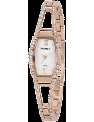 Chic Time | Montre Femme Armitron 753531MPRG Swarovski Crystal NOW  | Prix : 104,90€