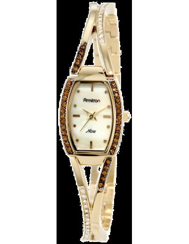 Chic Time | Montre Femme Armitron 75/4067CMGP Topaz Swarovski Crystal  | Prix : 142,90€