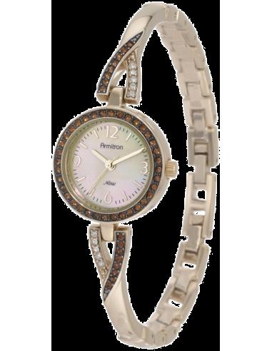 Chic Time | Montre Femme Armitron 75/4038CMGP Topaz Swarovski Crystal  | Prix : 125,90€