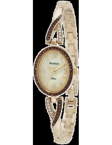 Chic Time | Montre Femme Armitron 75/4049CMGP Topaz Swarovski Crystal  | Prix : 125,90€