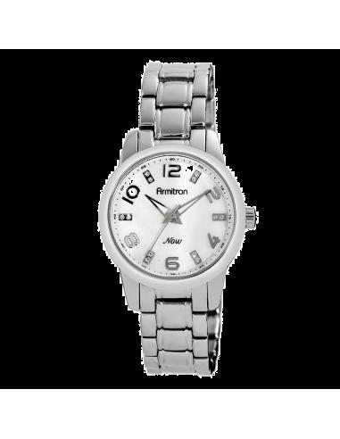 Chic Time | Montre Femme Armitron 753860MPSV NOW Swarovski Crystal  | Prix : 74,90€