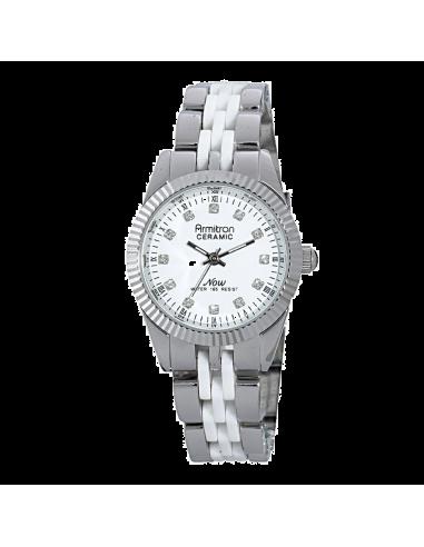 Chic Time | Montre Femme Armitron 753959WTSV Swarovski Crystal NOW  | Prix : 119,90€