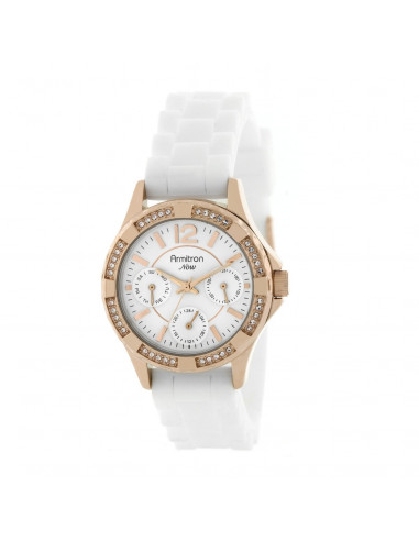 Chic Time | Montre Femme Armitron 753962WTRGWT Swarovski Crystal NOW  | Prix : 104,90 €