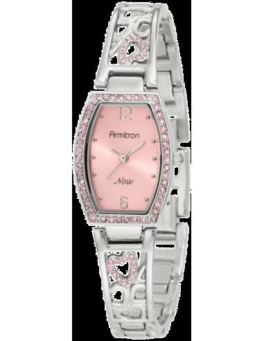 Chic Time   Montre Femme Armitron 753874PKSV Swarovski Crystal NOW    Prix : 96,90€