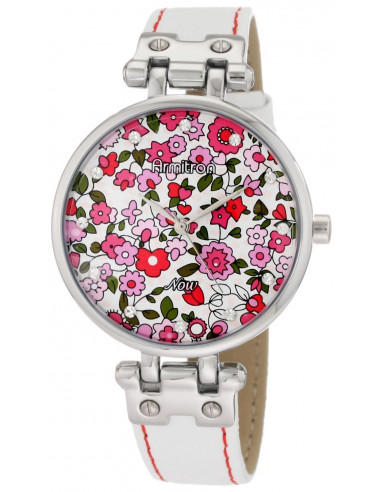 Chic Time | Montre Femme Armitron 753963PKSVWT Swarovski Crystal NOW  | Prix : 74,90€