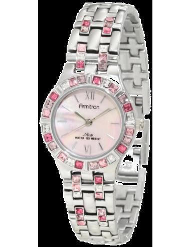 Chic Time | Montre Femme Armitron 753782PMPS NOW Swarovski Crystal  | Prix : 119,90€