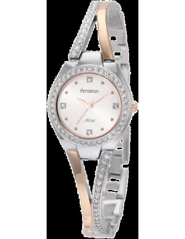 Chic Time   Montre Femme Armitron 75/3975SVTR Swarovski Crystal    Prix : 119,90€