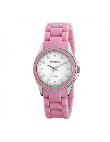 Chic Time | Montre Femme Armitron 753974SVPK Swarovski Crystal NOW  | Prix : 59,90€