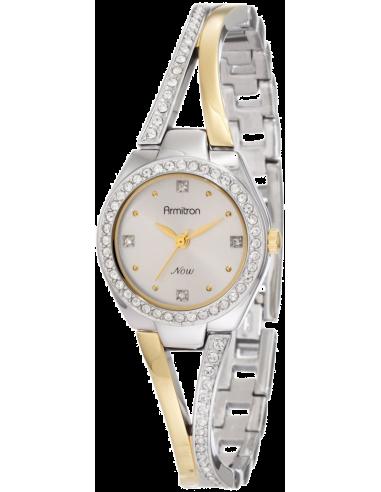 Chic Time | Montre Femme Armitron 753975SVTT Swarovski Crystal NOW  | Prix : 111,90€