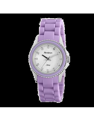 Chic Time | Montre Femme Armitron 753974SVLV Swarovski Crystal NOW  | Prix : 59,90€