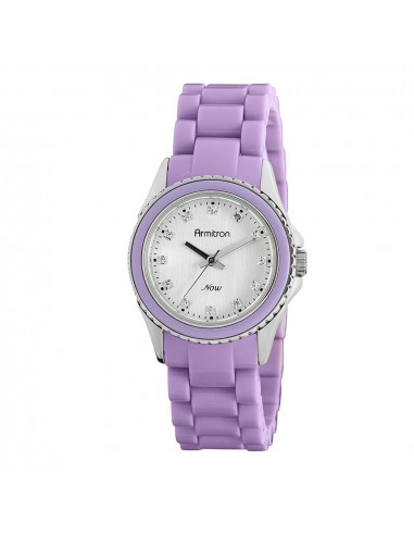 Chic Time | Montre Femme Armitron 753974SVLV Swarovski Crystal NOW  | Prix : 59,90 €