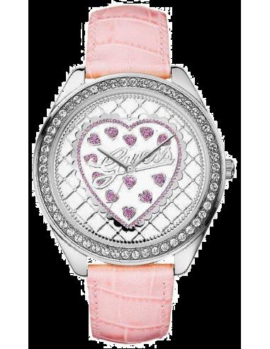 Chic Time | Montre Guess Femme W75064L1 Bracelet En Cuir Rose  | Prix : 149,00€