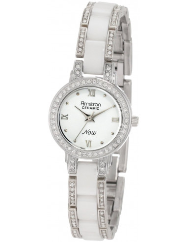 Chic Time | Montre Femme Armitron 753919WTSV NOW Swarovski Crystal  | Prix : 96,90€