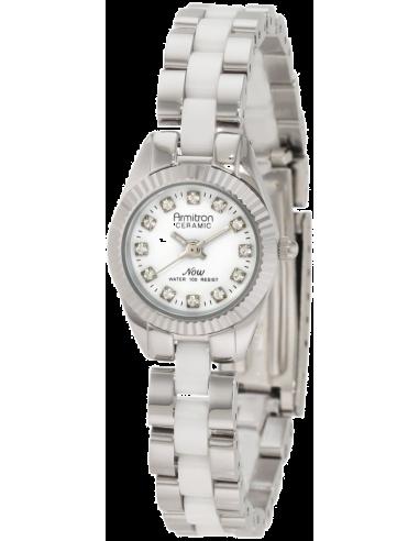 Chic Time | Montre Femme Armitron 75/4034WTSV Swarovski Crystal  | Prix : 125,90€