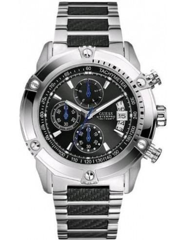 Chic Time | Montre Homme Guess Waterpro Chronograph U18507G2  | Prix : 220,15 €