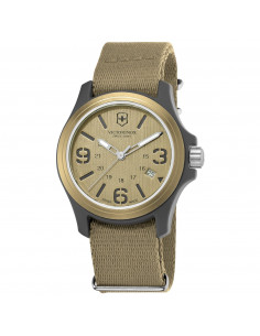 Chic Time | Montre Homme Victorinox 241516 Beige  | Prix : 141,10€