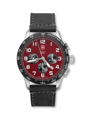 Chic Time | Montre Homme Victorinox Swiss Army 24785.1000 Airboss Mach 6  | Prix : 1,125.00