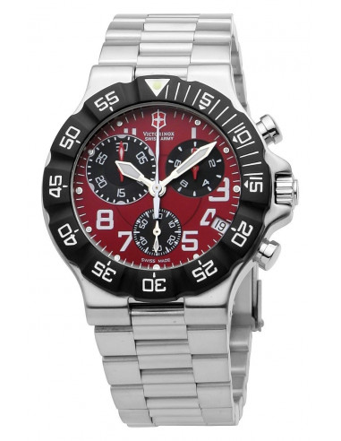 Chic Time | Montre Homme Victorinox Swiss Army 241342 Summit XLT Chrono  | Prix : 309,92 €