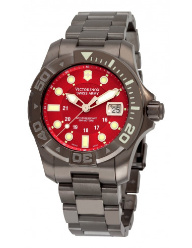 Chic Time | Montre Homme Victorinox Swiss Army 241430 Dive Master 500  | Prix : 608,35 €