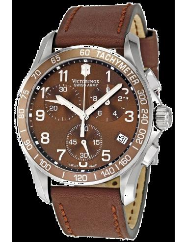 Chic Time | Montre Homme Victorinox Swiss Army 241151 Chrono Classic  | Prix : 395,00€