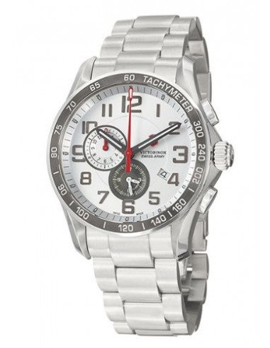 Chic Time | Montre Homme Victorinox Swiss Army 241282 Chrono Classic XLS  | Prix : 286,35 €