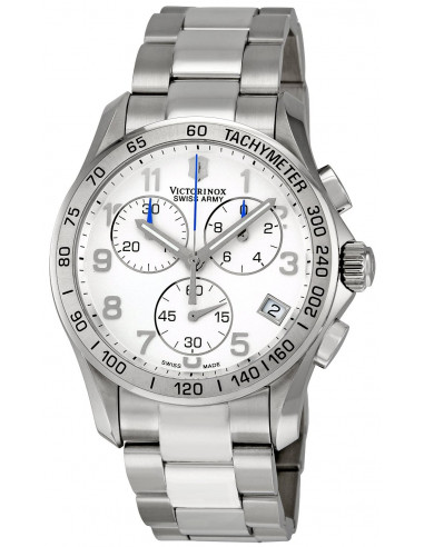 Chic Time | Montre Homme Victorinox Swiss Army 241315 Chrono Classic  | Prix : 433,55 €