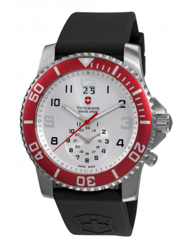 Chic Time   Montre Homme Victorinox Swiss Army 241177 Maverick II Dual Time    Prix : 369,90€