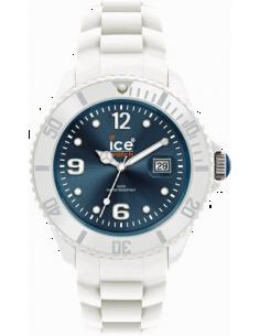 Chic Time | Montre Ice-Watch Silicone Ice-White White Jeans Big SI.WJ.B.S.10  | Prix : 99,00€