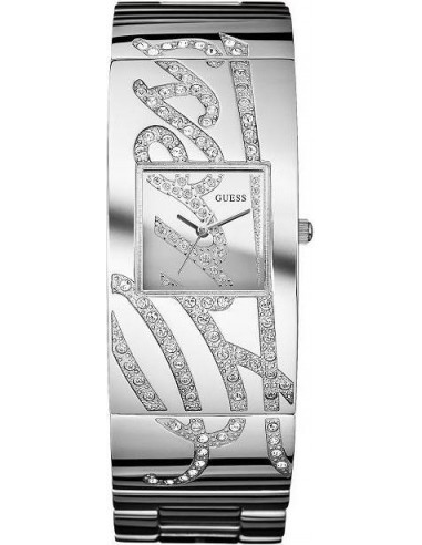 Chic Time   Montre Femme Guess Autograph Argent W12063L1 Bracelet En Acier    Prix : 239,90€
