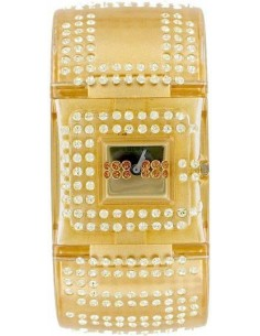 Chic Time | Montre Femme Guess Crystal U17509L2 Or  | Prix : 137,40 €