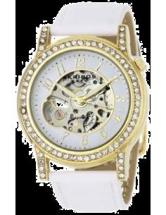 Chic Time | Montre Femme Akribos XXIV AKR475WT Bravura Skeleton Automatic  | Prix : 69,99€