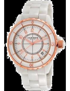 Chic Time | Montre Femme Akribos XXIV AK484WTR Blanc  | Prix : 149,00€