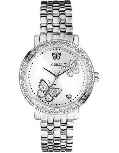 Chic Time | Montre Guess Butterfly G86013L Papillons Argent  | Prix : 129,00€