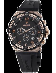 Chic Time | Montre Femme Lancaster OLA0441L/RG/NR/NR Robusto  | Prix : 1,394.90